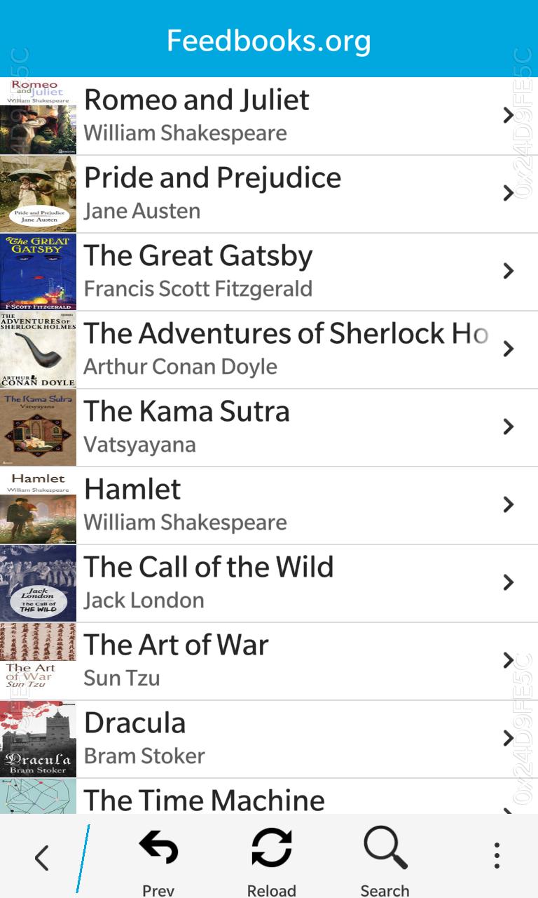 Libraries books list
