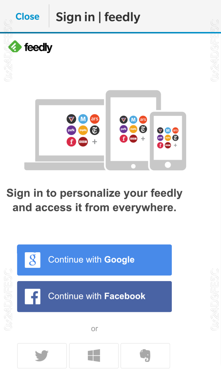 Feedly Connect